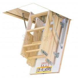 4 section wooden loft ladder 68cm x 92cm