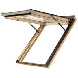Optilight top-pivot roof window